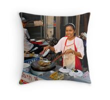 Thai Smile Throw Pillow