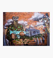 Graffiti - Bakery Lane Brisbane Photographic Print