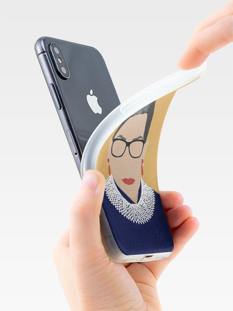 Alternate view of Ruth Bader Ginsburg  iPhone Case & Cover
