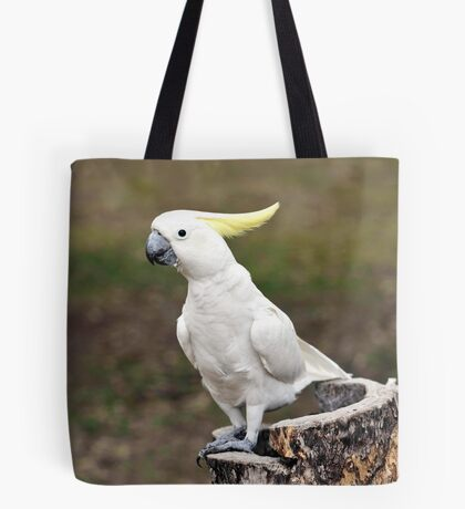 Hello Cocky - Cockatoo at Granite Gorge Tote Bag