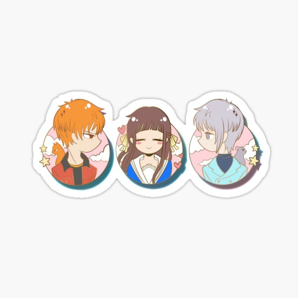 Fruits Basket Trio Sticker