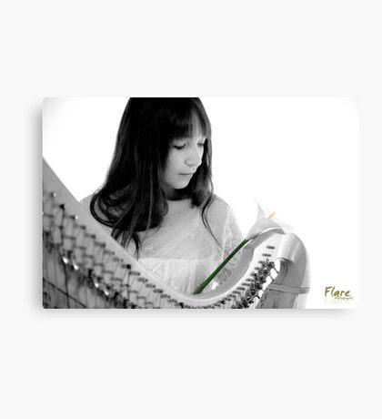 Harmonic Lilium Canvas Print