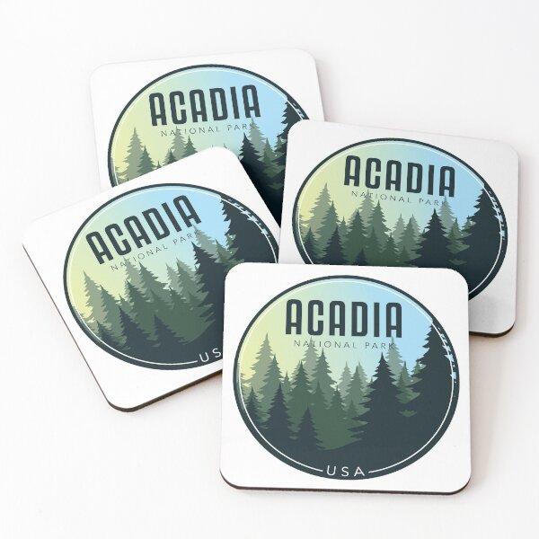 Acadia National Park - USA Coasters (Set of 4)