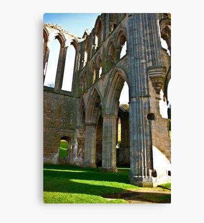 Rievaulx Arches Canvas Print