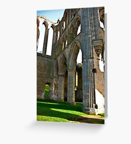 Rievaulx Arches Greeting Card