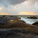 Sea Sky Sunset by BlaizerB