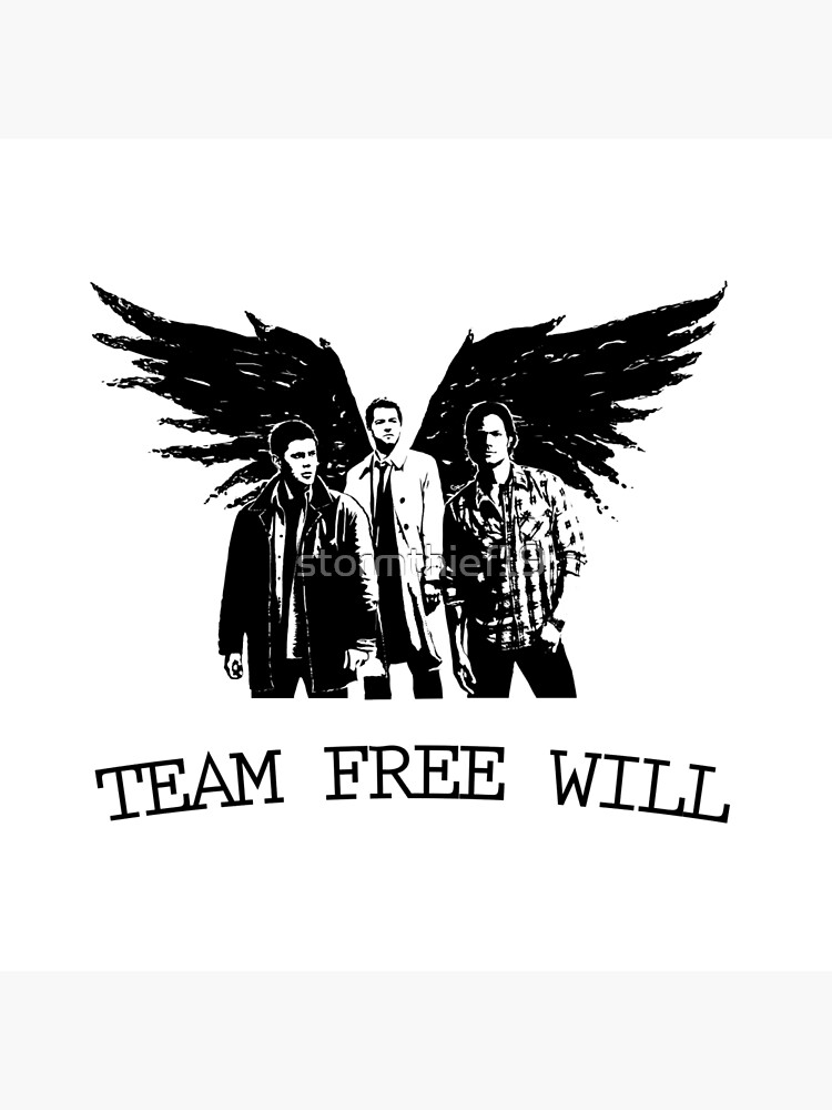 Team Free Will Supernatural by stormthief19