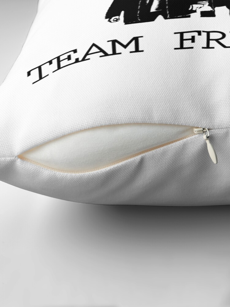 Alternate view of Team Free Will Supernatural Throw Pillow