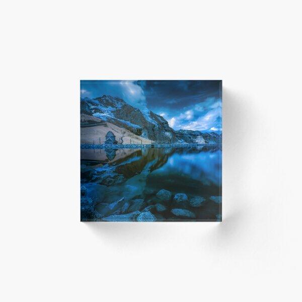 Grindelwald, Switzerland Acrylic Block