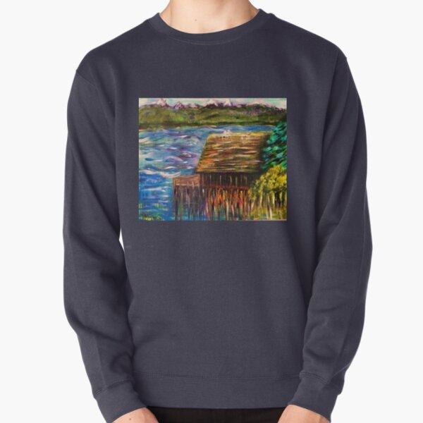 Lemolo Boathouse  Pullover Sweatshirt