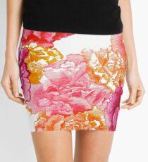 Carnations are her Favorite Flower Mini Skirt