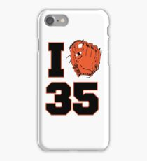 I Glove 35 iPhone Case/Skin