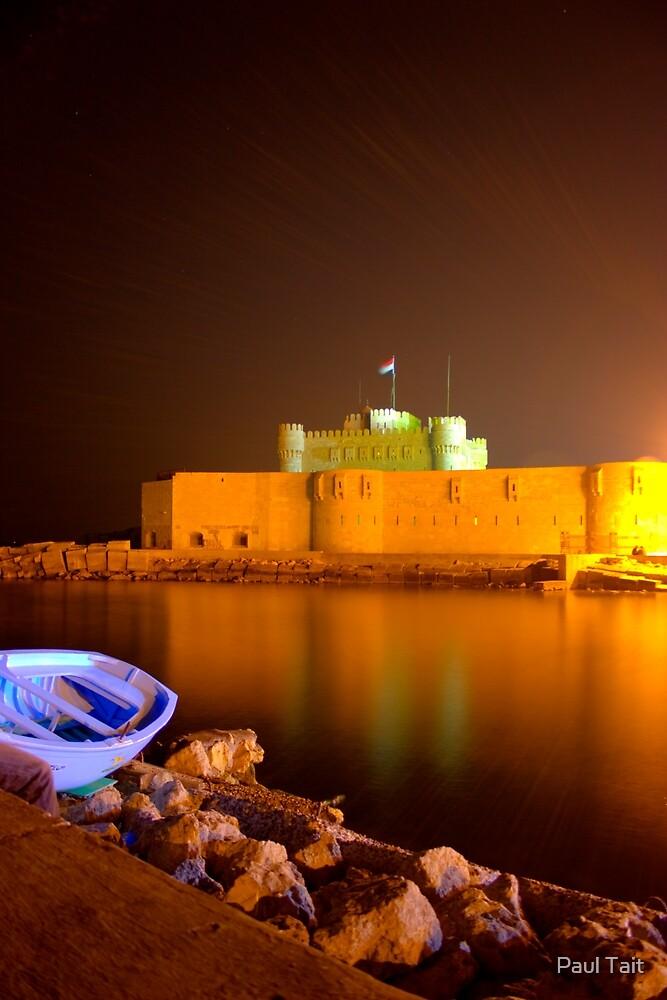 Fort Qaitbey  by Paul Tait