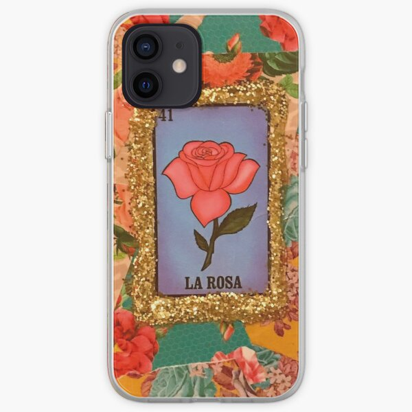 Mexican Bingo La Rosa  iPhone Soft Case