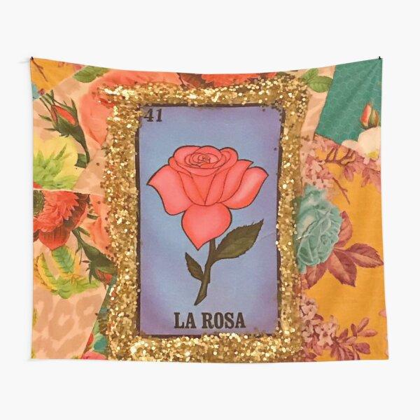 Bingo mexicano La Rosa Tela decorativa