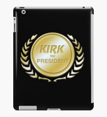 Kirk for President iPad Case/Skin