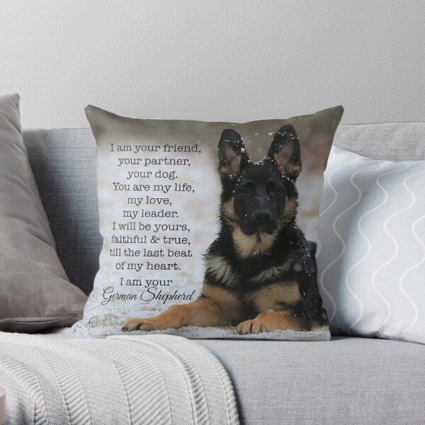 I Am Your German Shepherd Throw Pillow