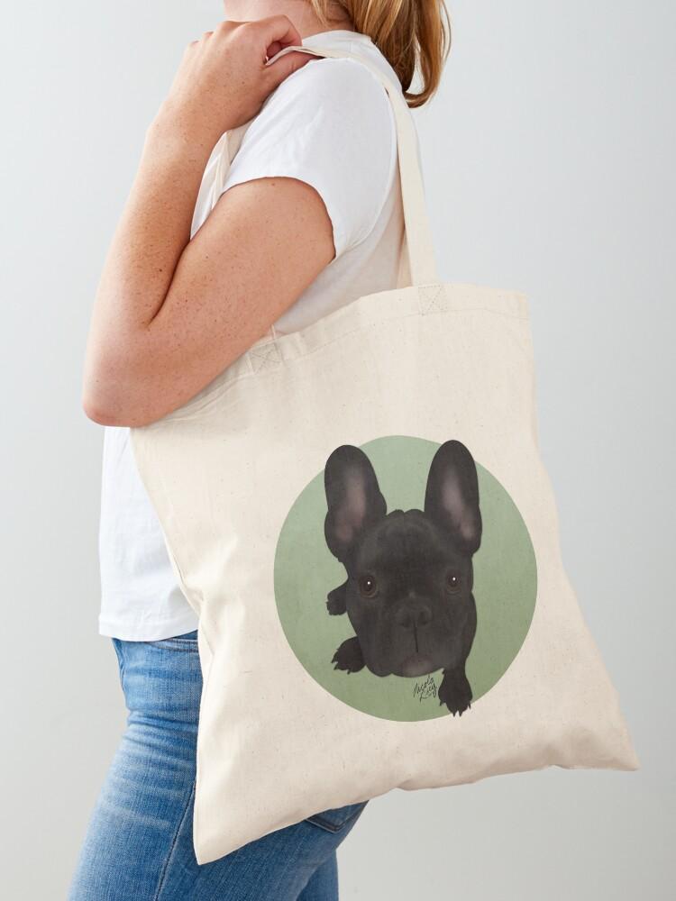 Bulldog Tote Bag English Bulldog Bag English Bulldog 100/% Cotton Tote Pet Lover Tote Bag Tote Bag