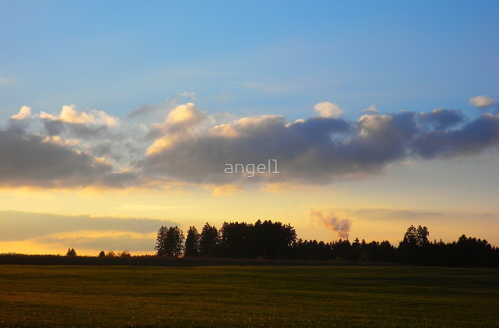 """The Sun Is Setting In The Sky featured in """"The World As We See it or As We Missed it"""" by ©The Creative  Minds"""