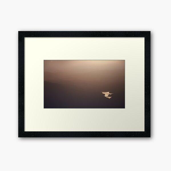 Morning Haze Framed Art Print