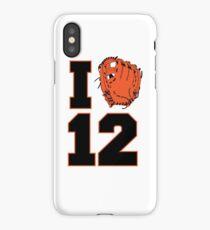 I Glove 12 iPhone Case