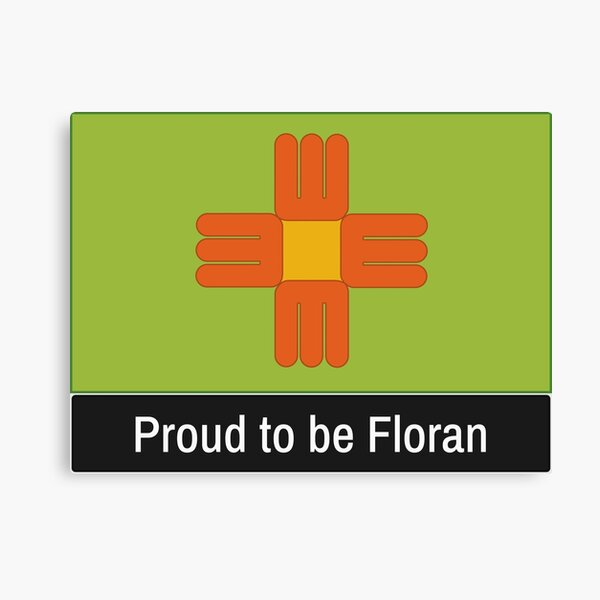 Starbound Proud to be Floran Canvas Print