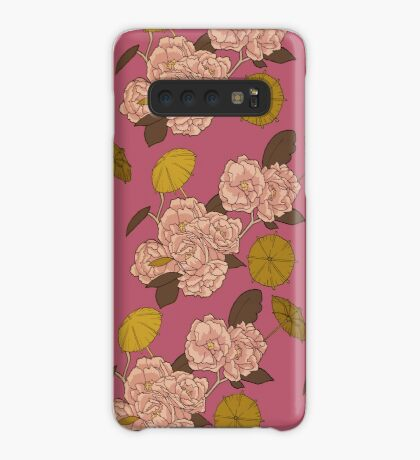 Flower Umbrella Pink Case/Skin for Samsung Galaxy