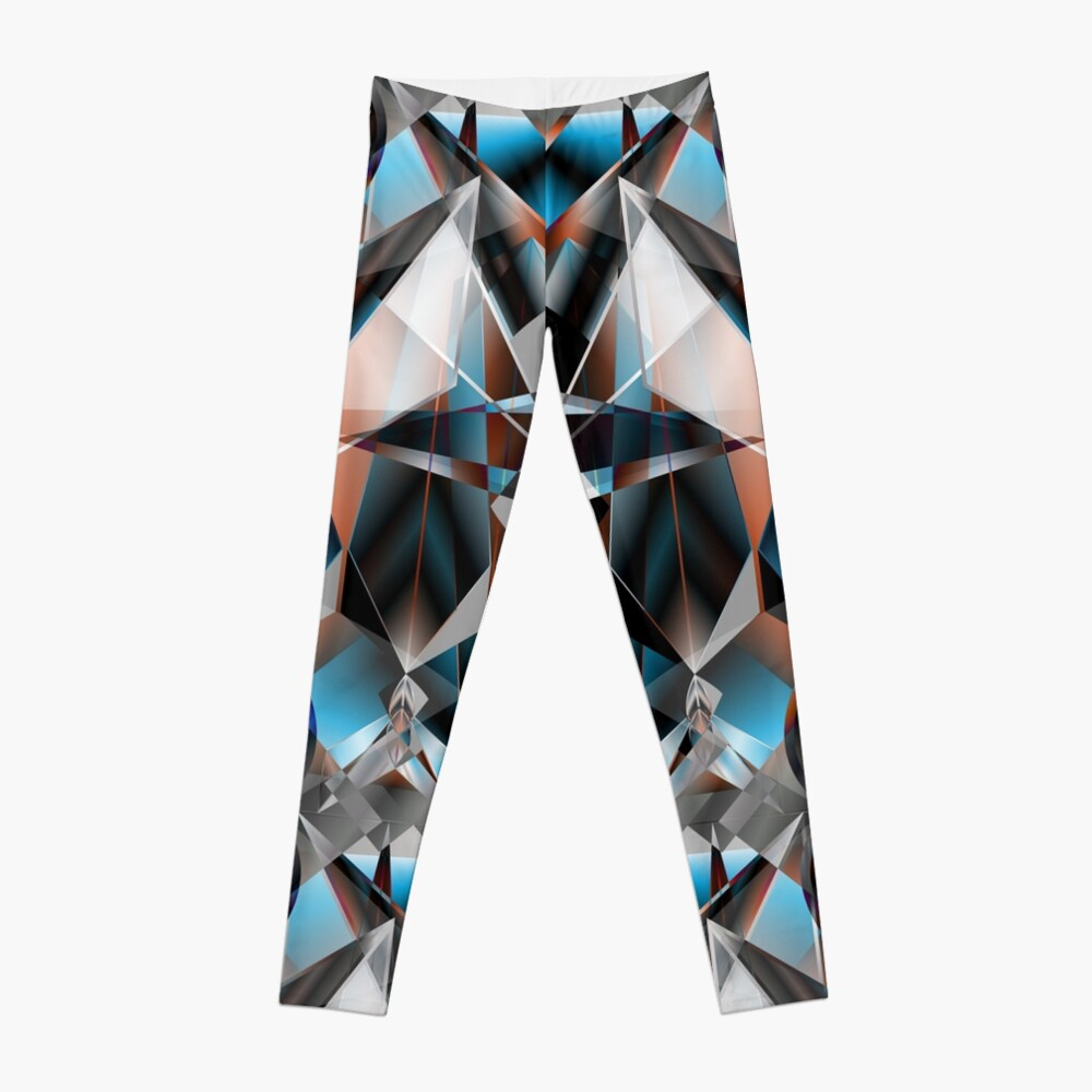 Metallight Bishop Orange Blue Leggings