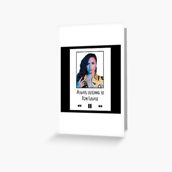 Demi Lovato Carte de vœux