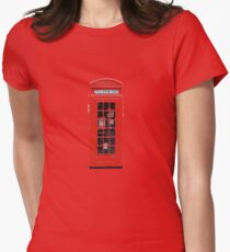Phonebox Womens Fitted T-Shirt