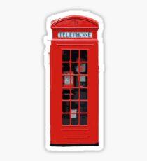 Phonebox Sticker