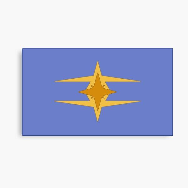 Starbound Novakid Flag Canvas Print