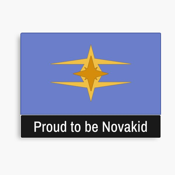 Copy of Starbound Proud to be Novakid Canvas Print
