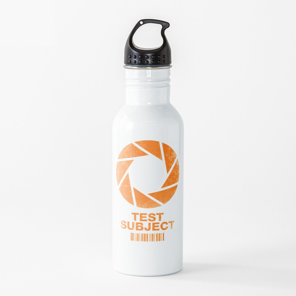 Test Subject - Orange Water Bottle