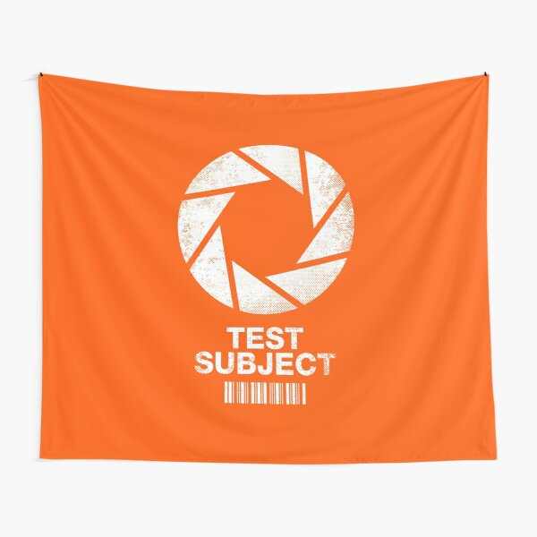 I was a Test Subject Tapestry