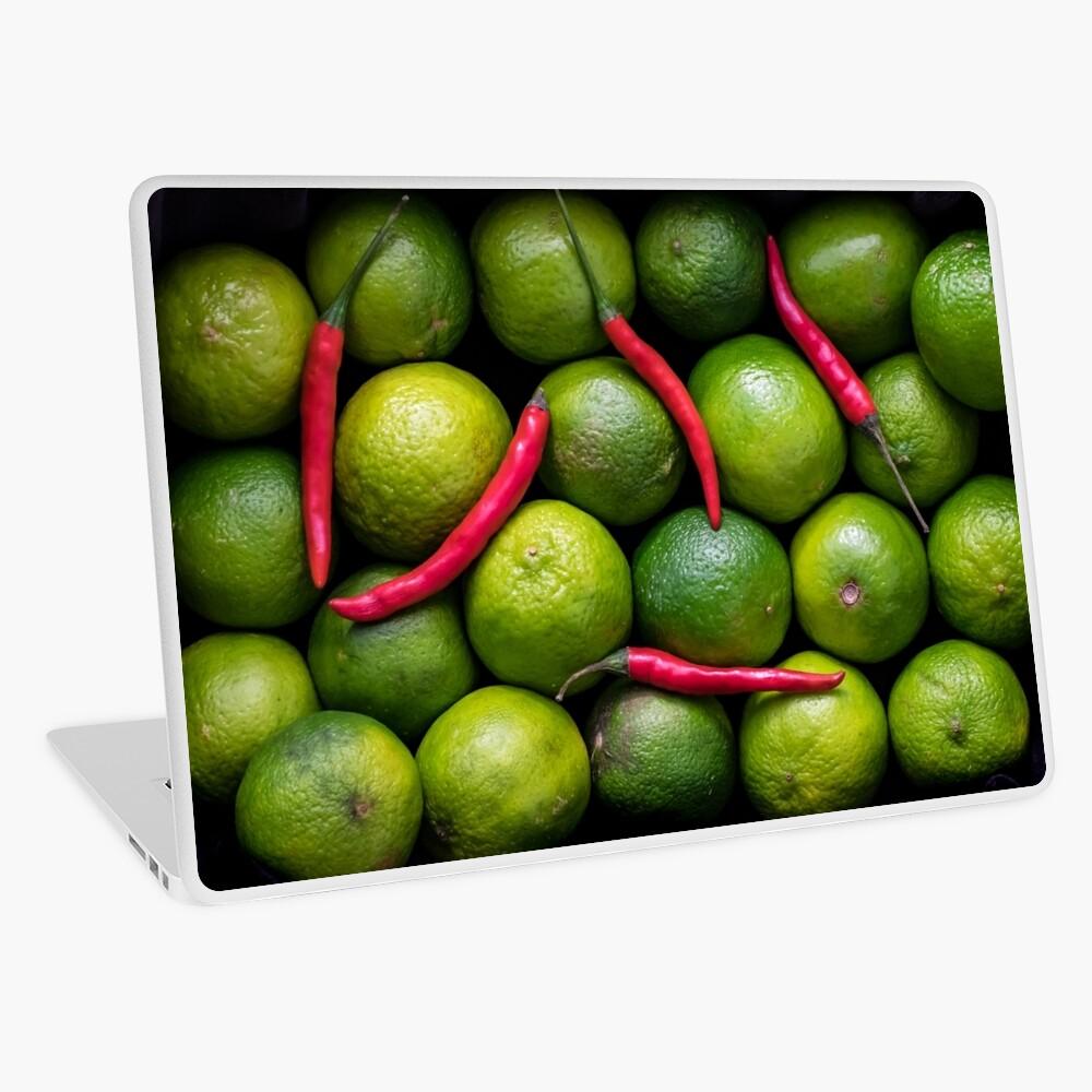Hot Limes Laptop Skin