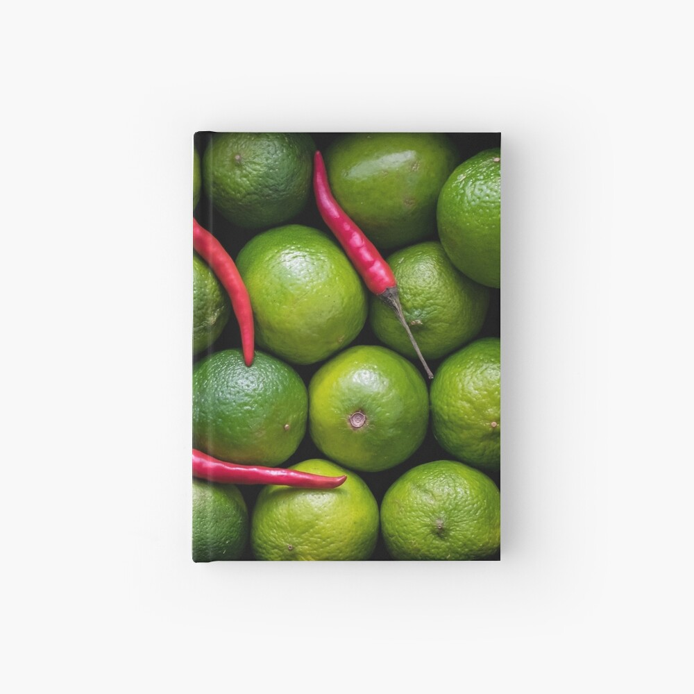 Hot Limes Hardcover Journal