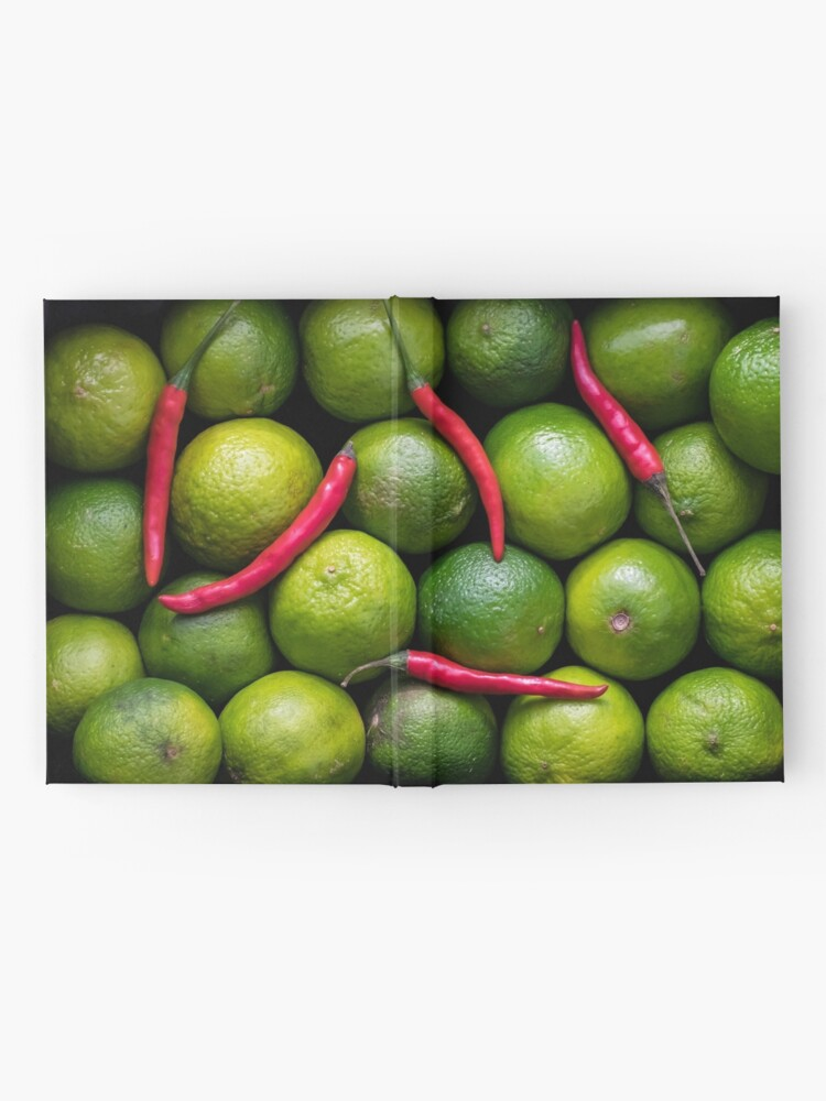 Alternate view of Hot Limes Hardcover Journal