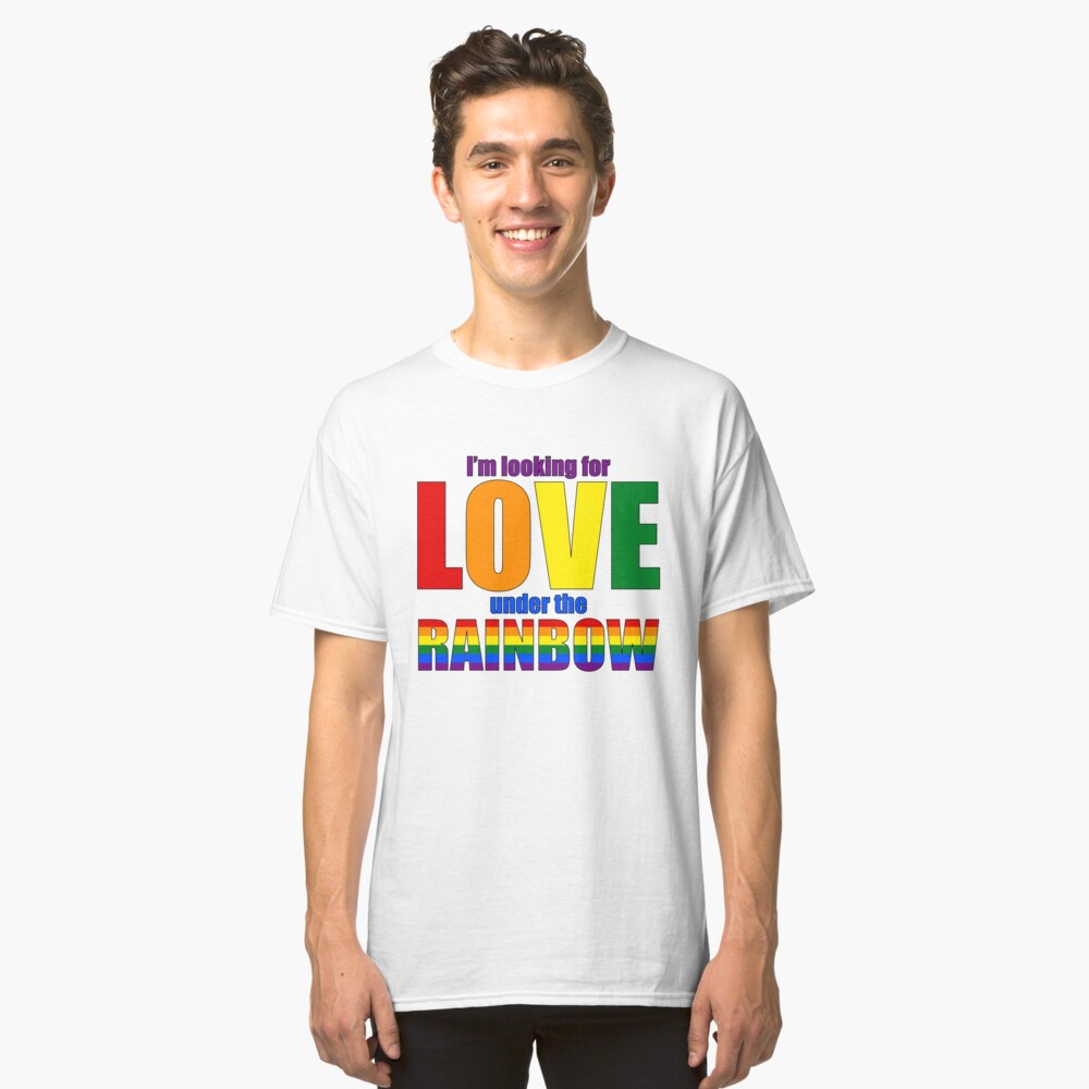 Love under Rainbow - Be Pride! Classic T-Shirt