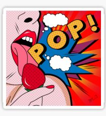 pop art  Sticker