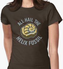 Hail the Helix Fossil Women's Fitted T-Shirt
