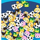 Animal Crossing New Leaf Tsum Tsums by pirateprincess