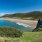 Rhossili Bay by Anita Harris
