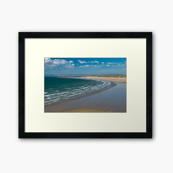 Rhossili Bay Framed Art Print