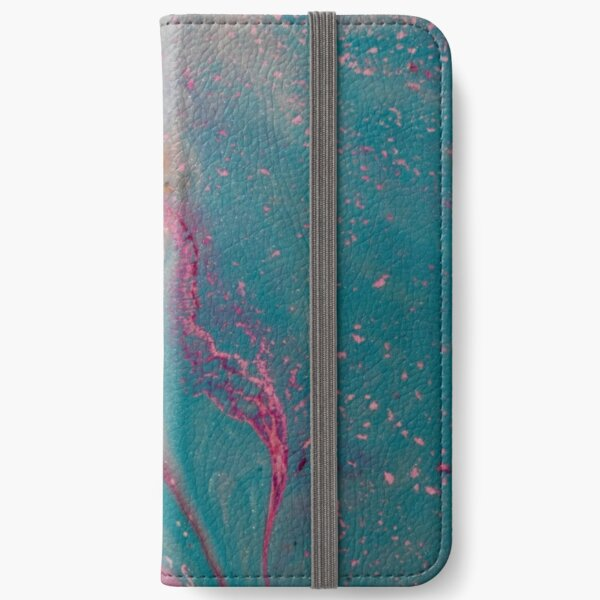 Abstract Magic 32 iPhone Wallet
