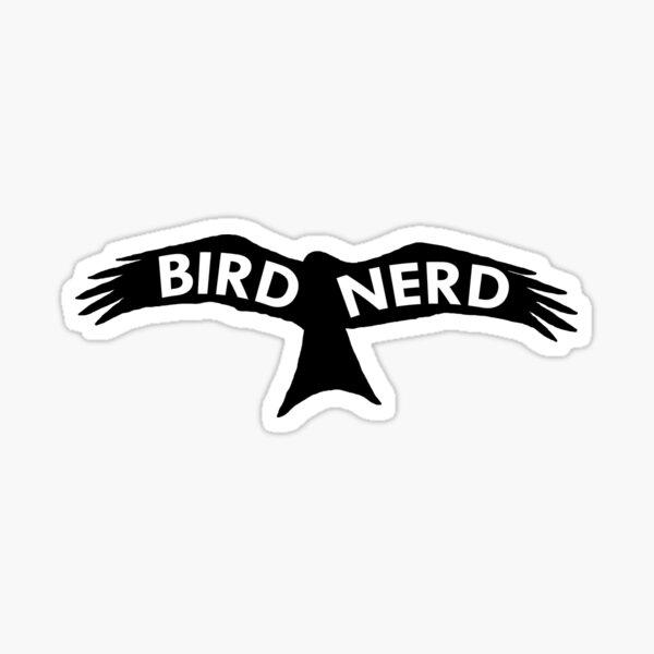 Bird Nerd - Kite Sticker