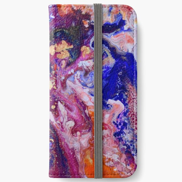 Abstract Magic 19 iPhone Wallet