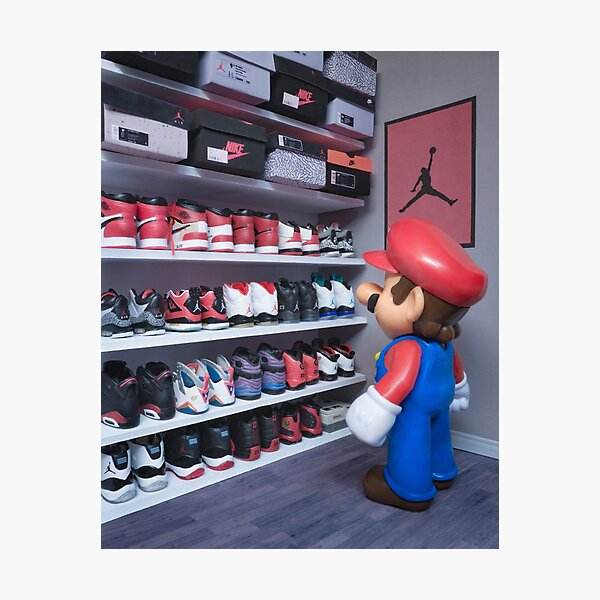 Shoe Closet Photographic Print