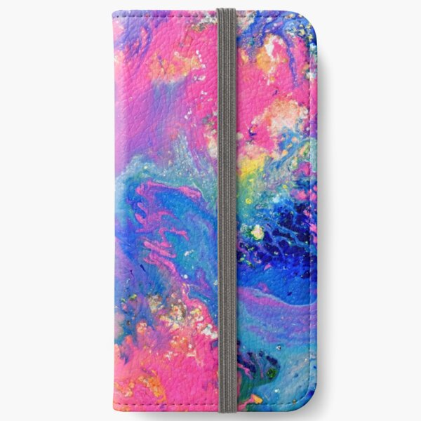 Abstract Magic 14 iPhone Wallet