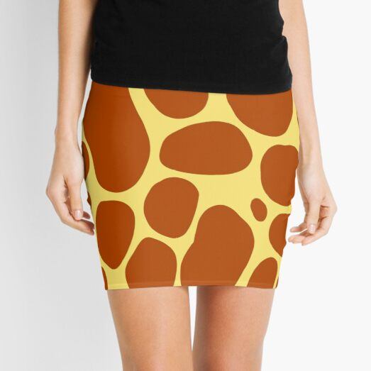 Happy Pattern Magical Spots Mini Skirt